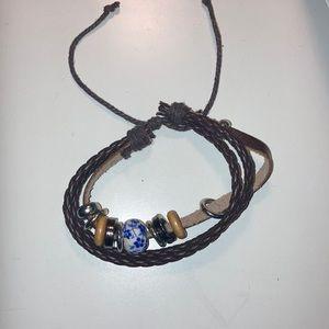 Multi layer boho bracelet